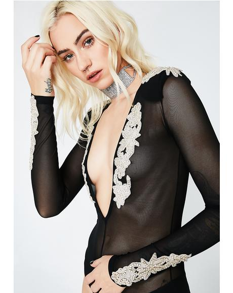 Night Goddess Sheer Bodysuit