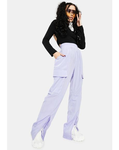 Lilac Josephine Track Pants