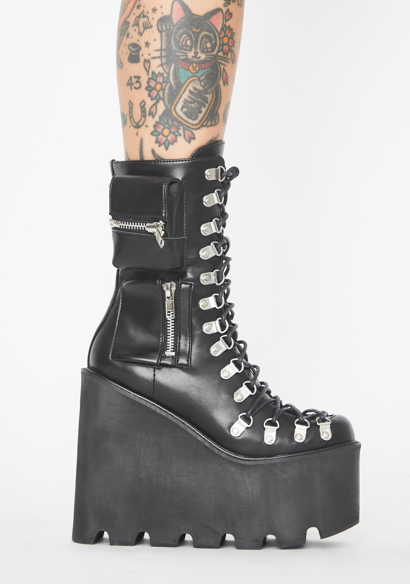 Current Mood Obsidian Pocket Traitor Boots