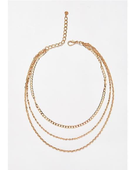 Down For Whateva Layered Necklace