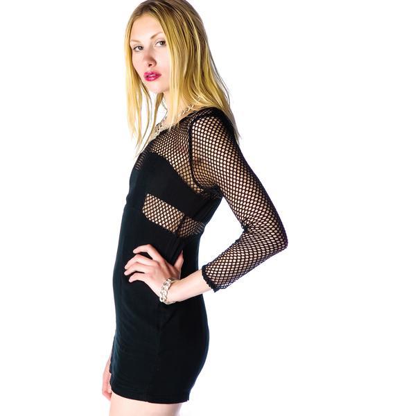 Nothing But Net Mesh Dress