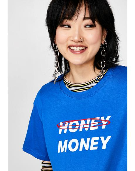 Honey Money Oversized Tee