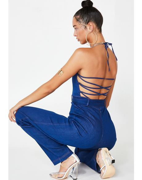 Ezra Denim Jumpsuit