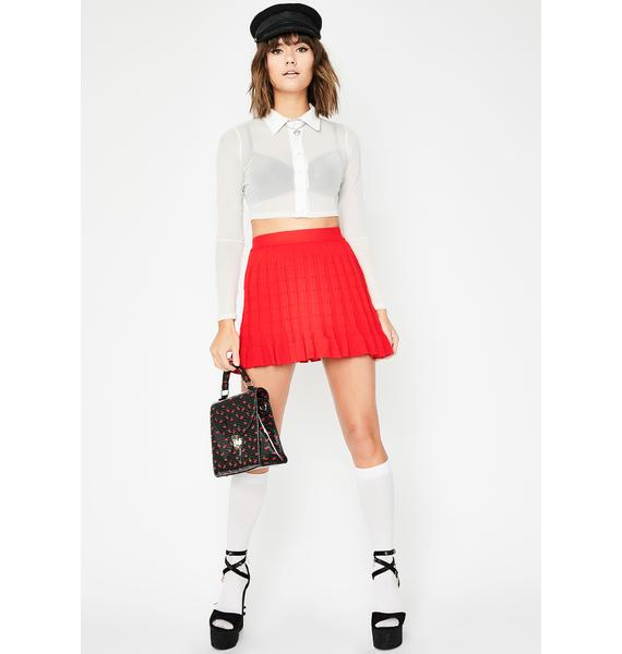 Slay School Pleated Skirt