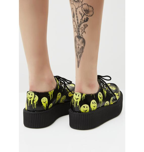 T.U.K. Smiley Mondo Creepers