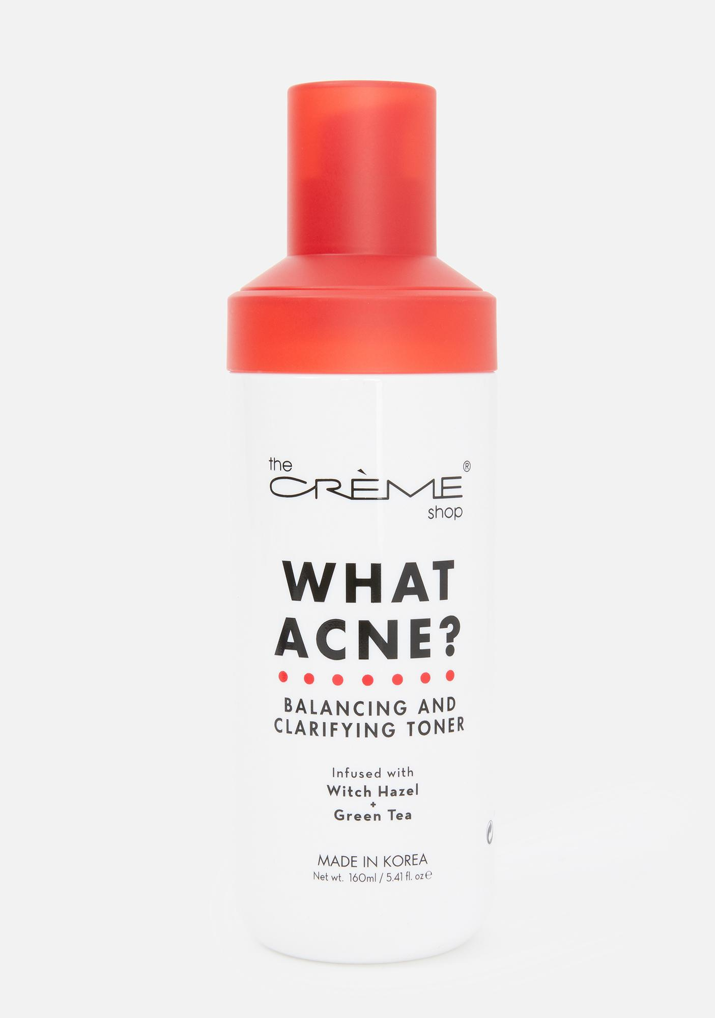 The Crème Shop What Acne? Balancing & Clarifying Toner