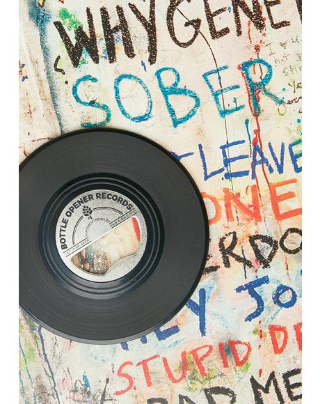 Put Some Records On Bottle Opener