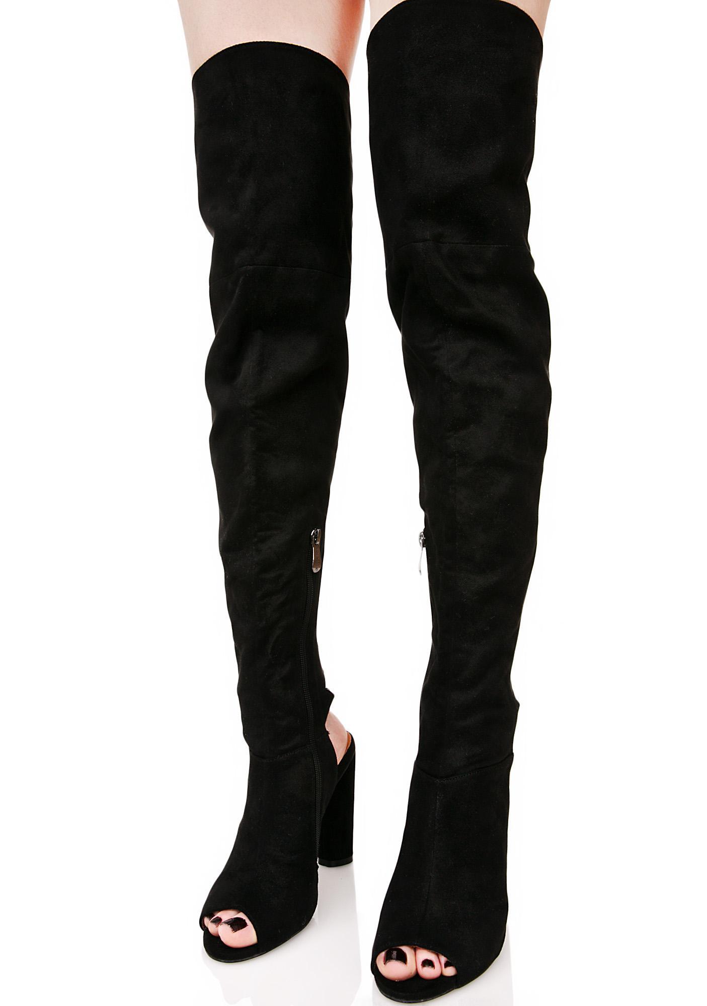 Assassin Thigh High Boots