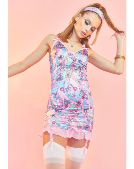 Blooming With Love Slip Dress