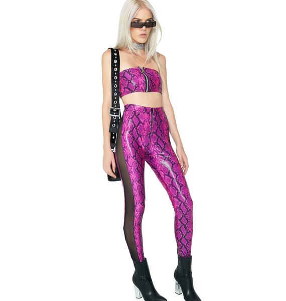 ESQAPE Synth Mesh Pant Set
