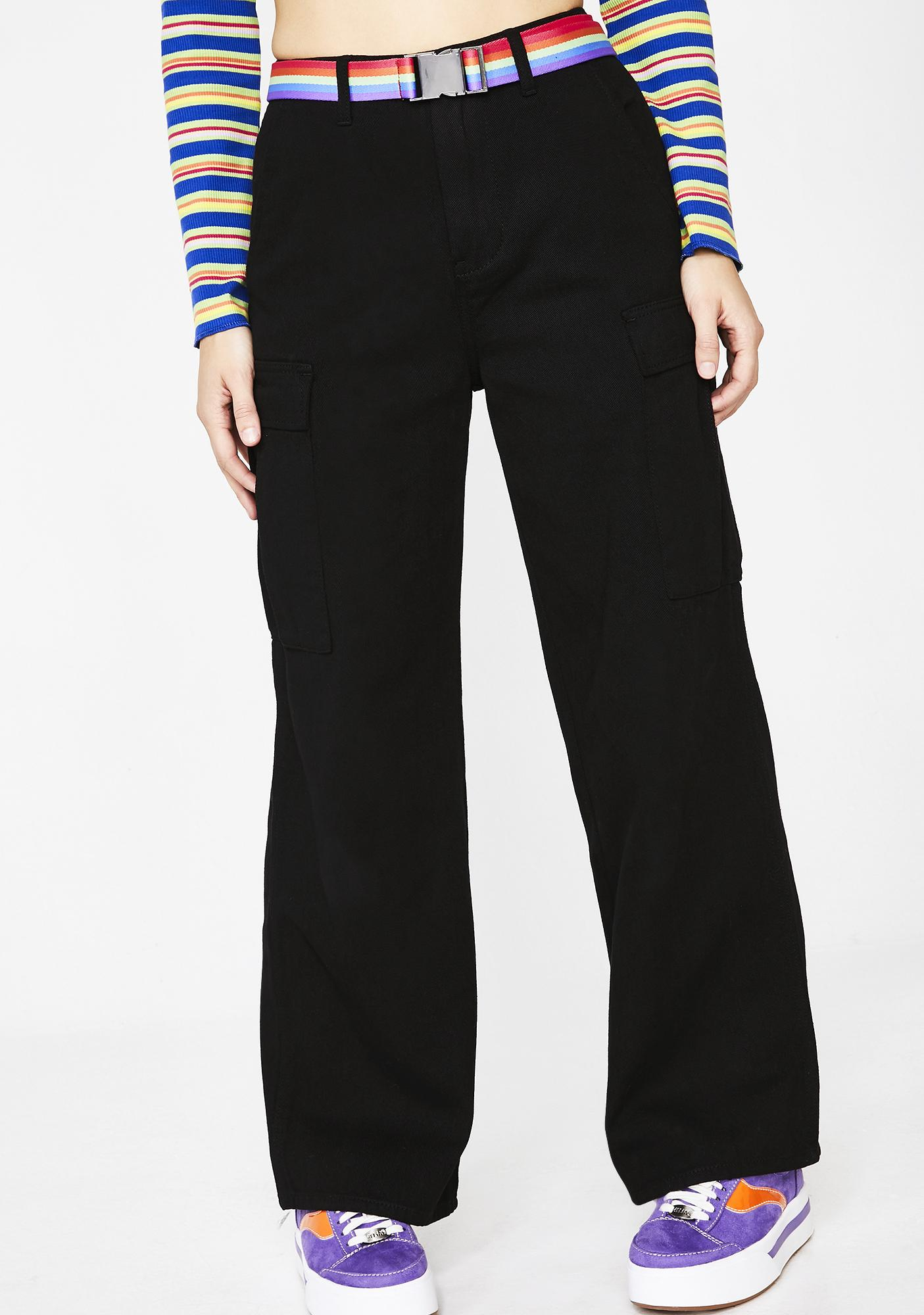dELiA*s by Dolls Kill Larger Than Life Cargo Pants