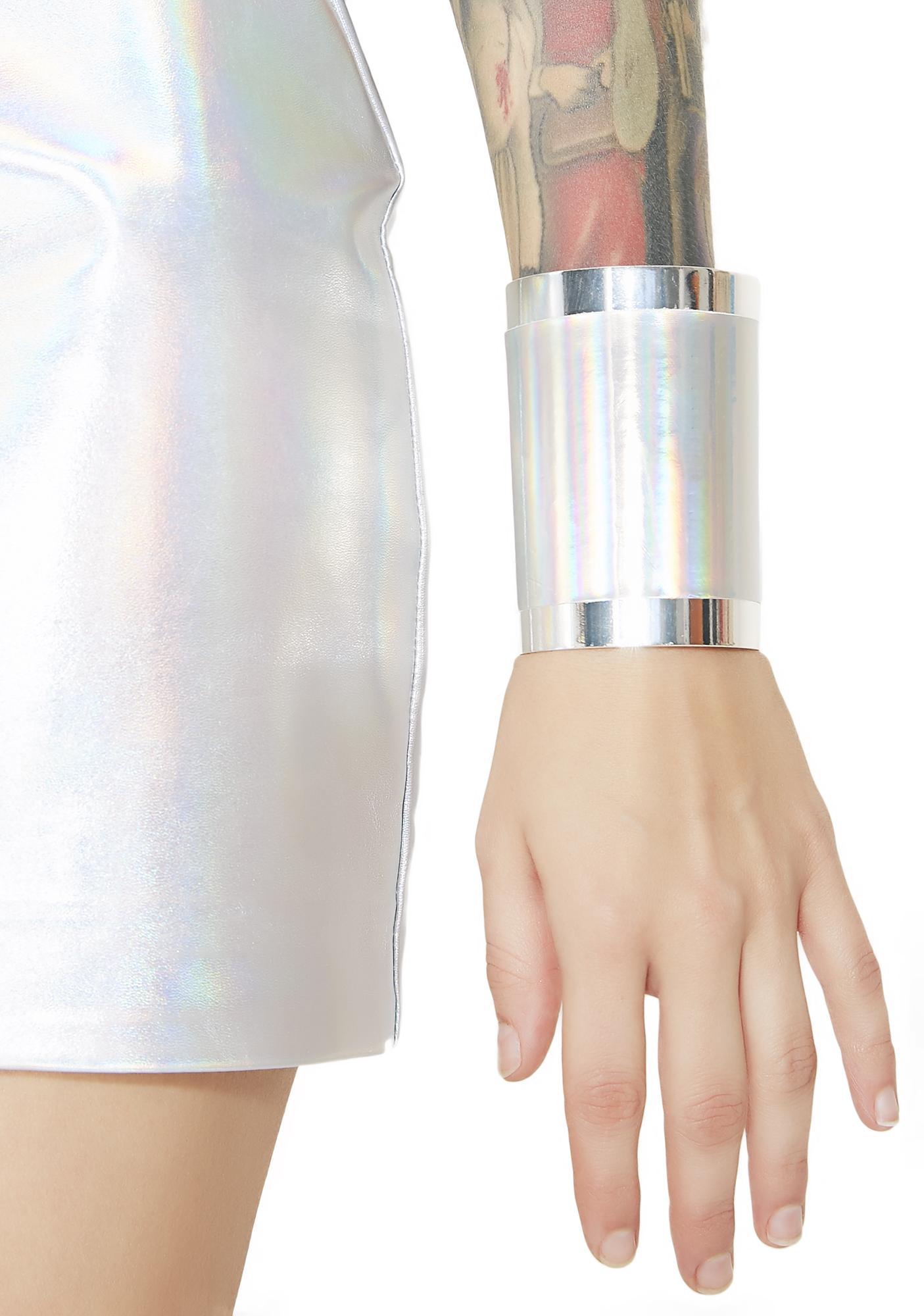 Galactic Warrior Cuff Bracelet