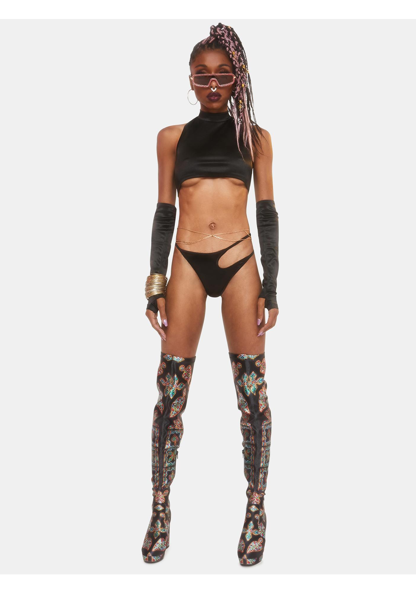 Club Exx Supernova Girl Asymmetrical Undies