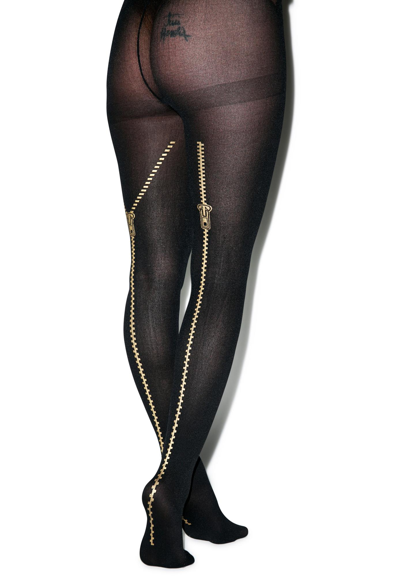 Zip Me Up Tights