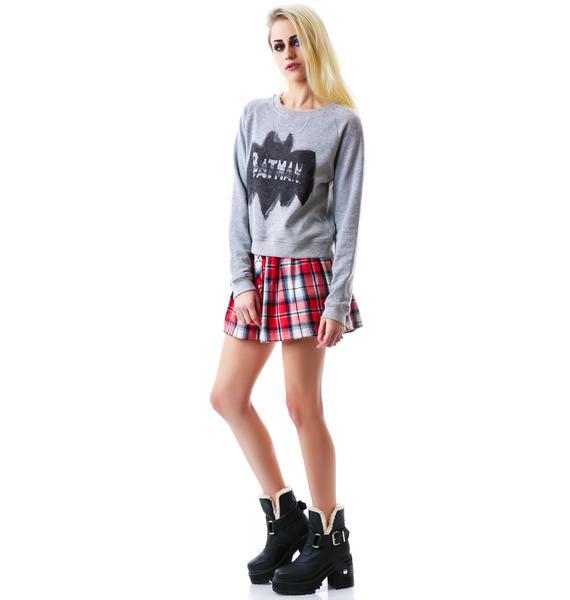 Junk Food Clothing Batman Pullover Sweatshirt