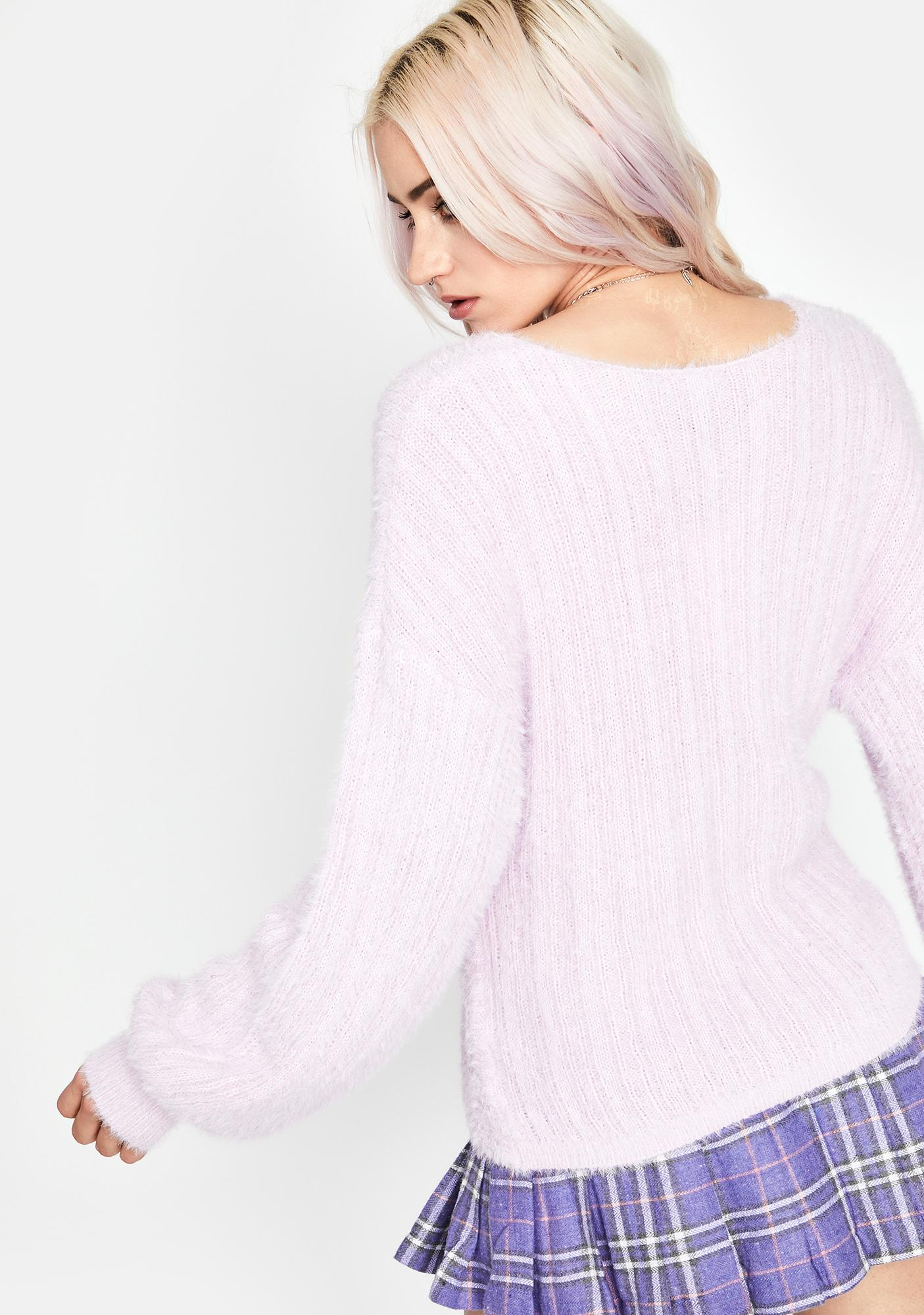 Sweet Beginnings Knit Sweater