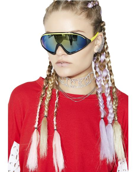 Stripe Runner Sunglasses