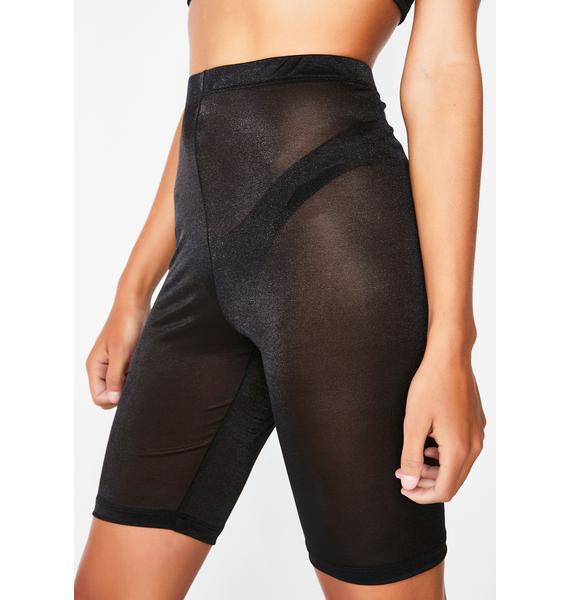 Motel Sheer Pinella Shorts