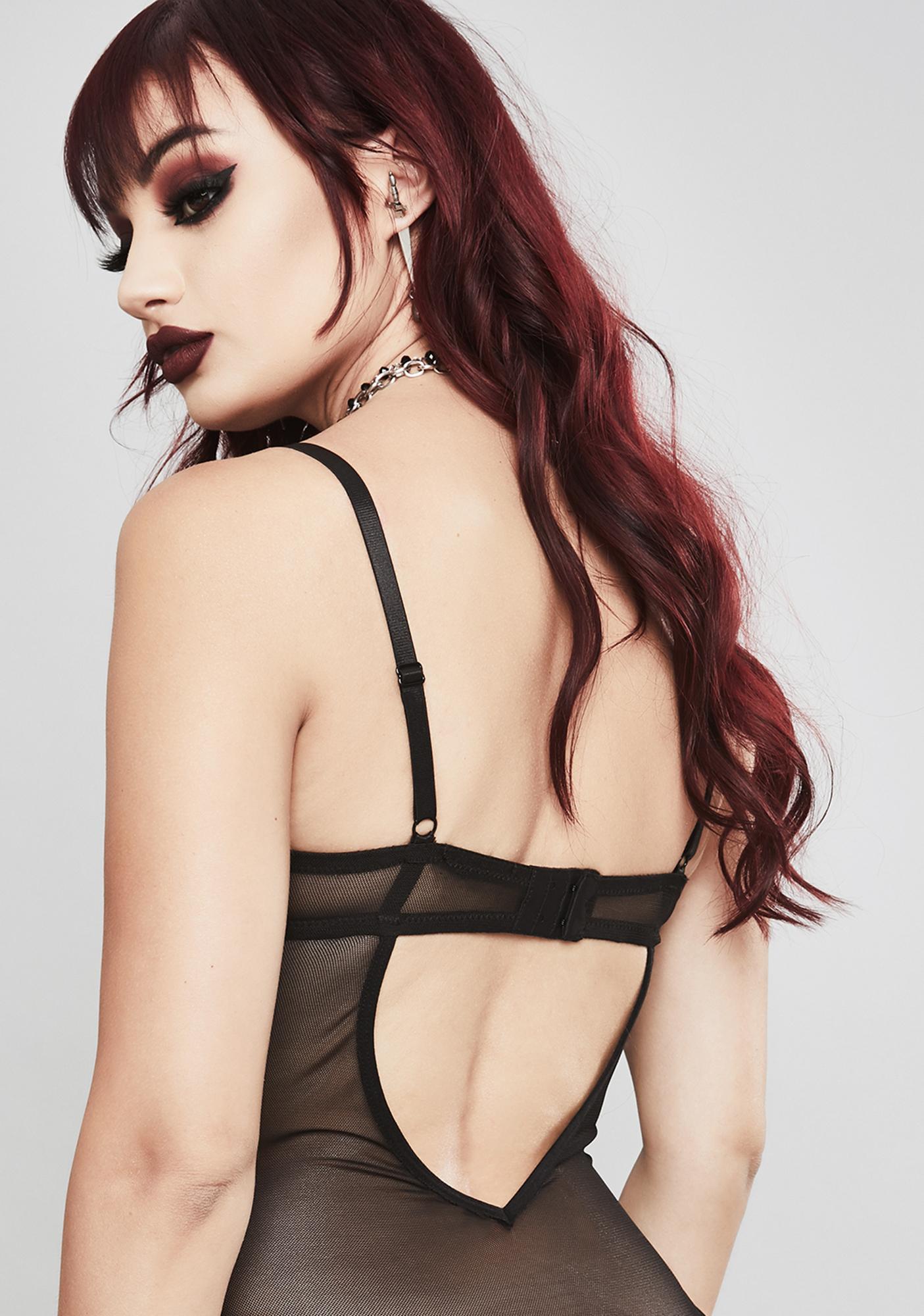 Widow Taste The Noise Lace Bodysuit