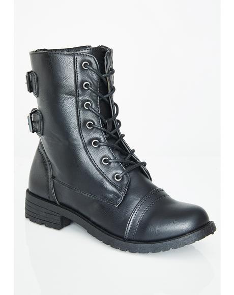 Off Duty Combat Boots