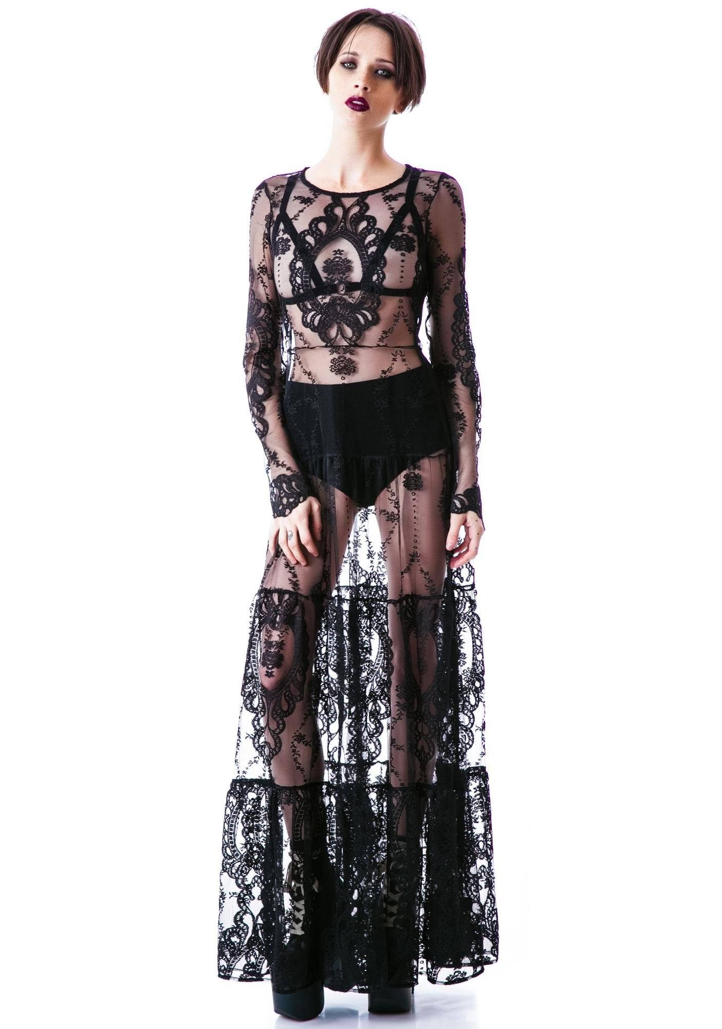 For Love & Lemons Enchanted Dress