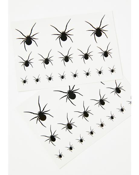 Infectious Heathen Spider Tattoos