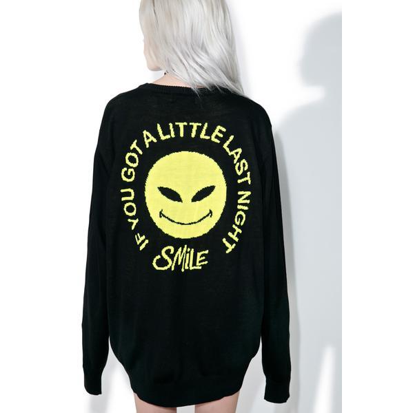 RIPNDIP Smile Alien Knit