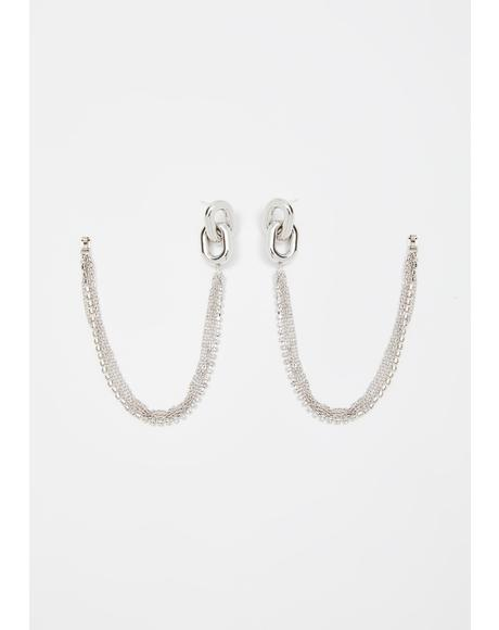 Daily Drip Chain Earrings