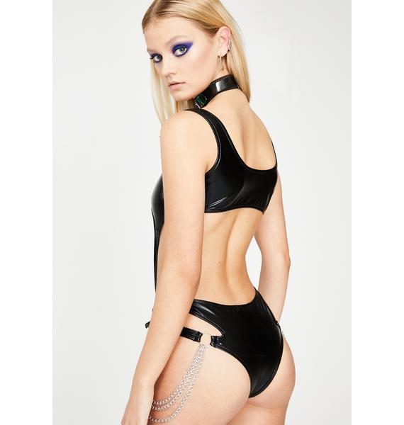 Club Exx Night Atomic Bliss Cut-Out Bodysuit