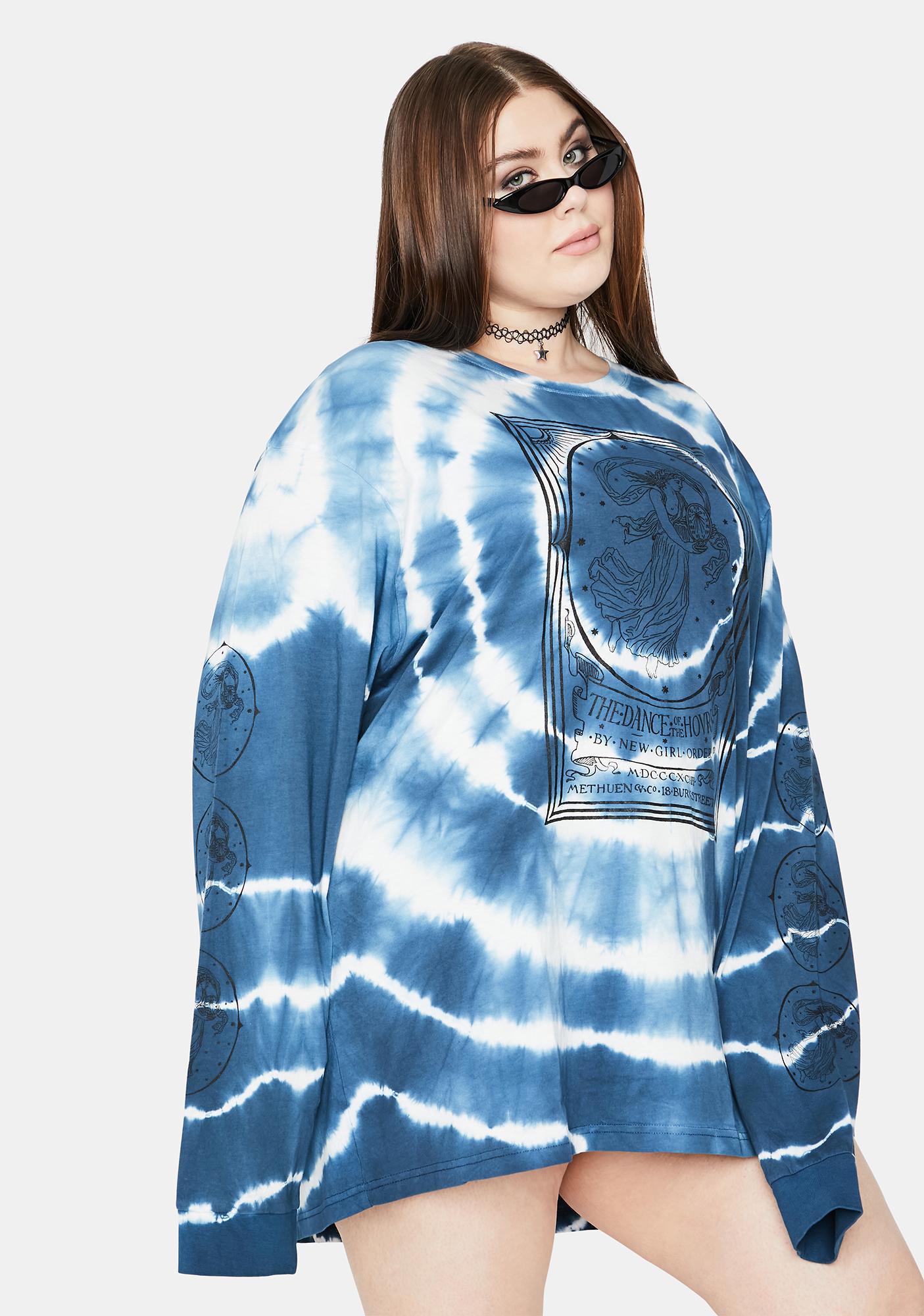 NEW GIRL ORDER Curve Opera Lady Tie Dye Tee
