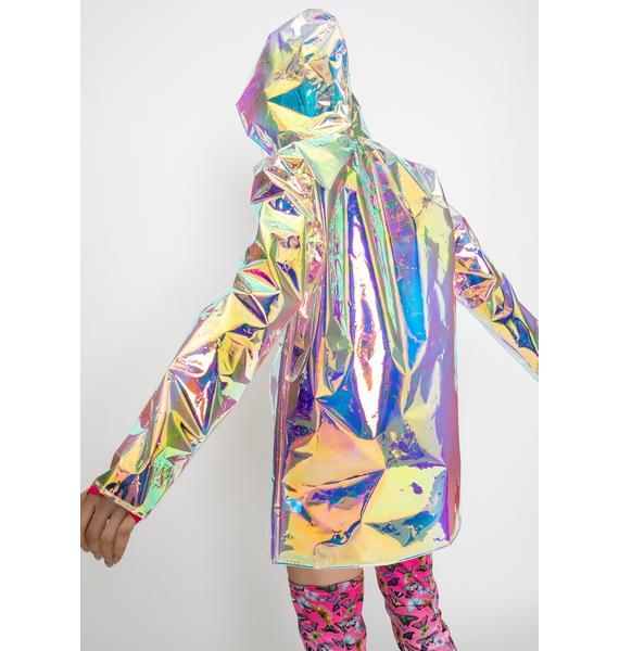 Club Exx Solar Beam Iridescent Jacket