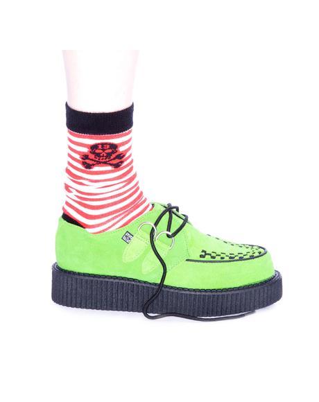 Neon Green Mondo Creeper