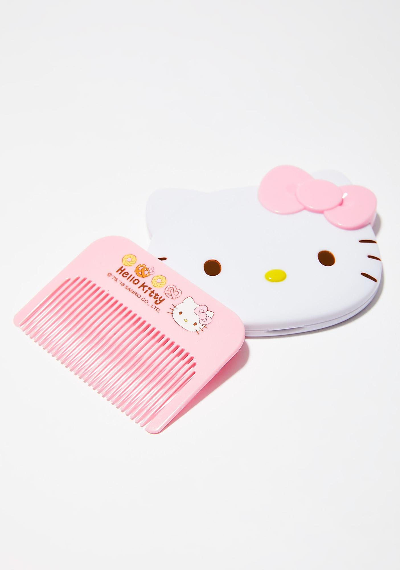 Sanrio Mirror And Comb Set