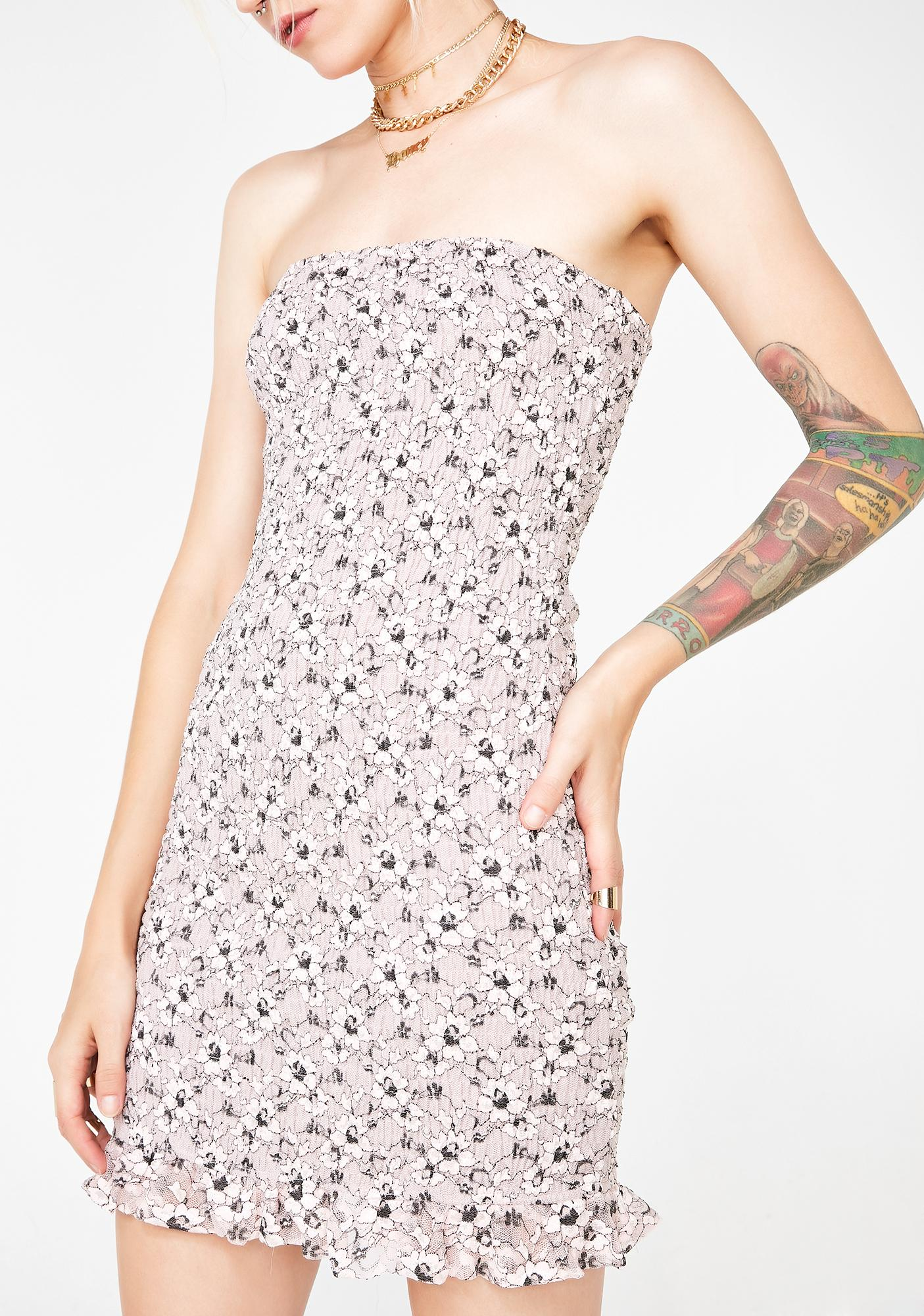 Baby Face Floral Dress