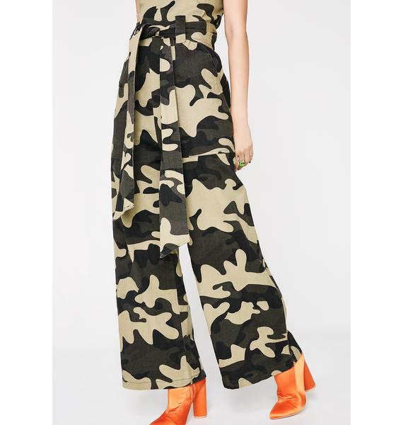 Come Find Me Camo Jumpsuit
