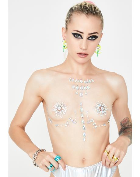 Icy Opulent Odyssey Body Jewels