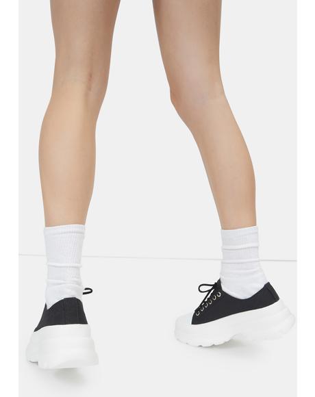 Noir Public Admirer Sneakers