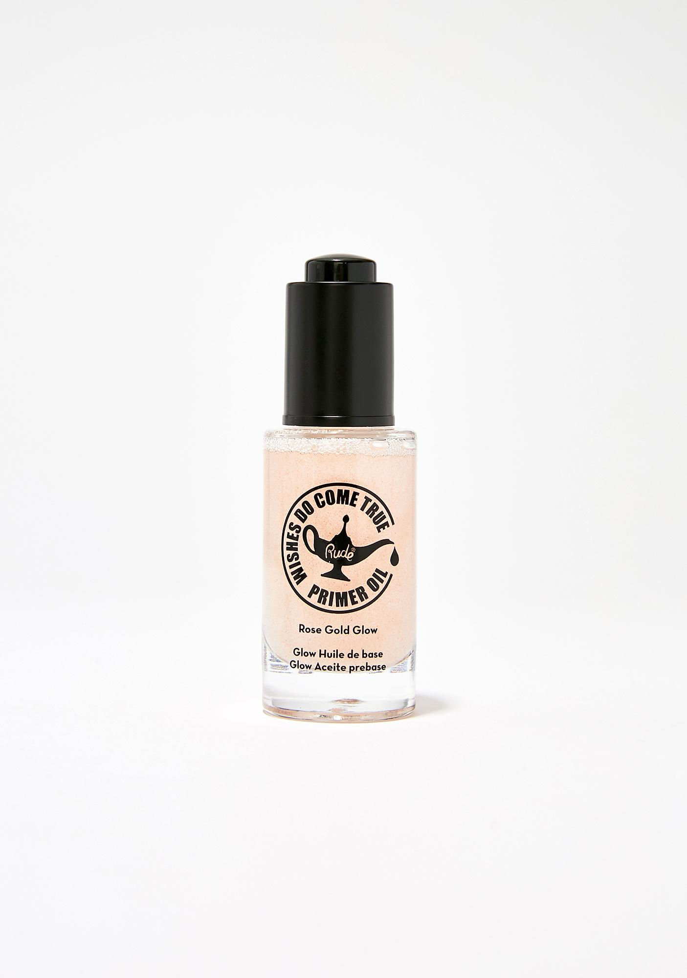 Rude Cosmetics Wishes Do Come True Glow Primer Oil