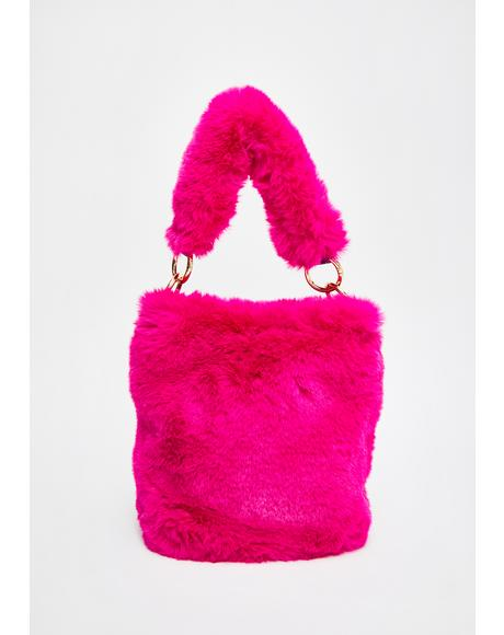 Plush Possessions Fuzzy Handbag