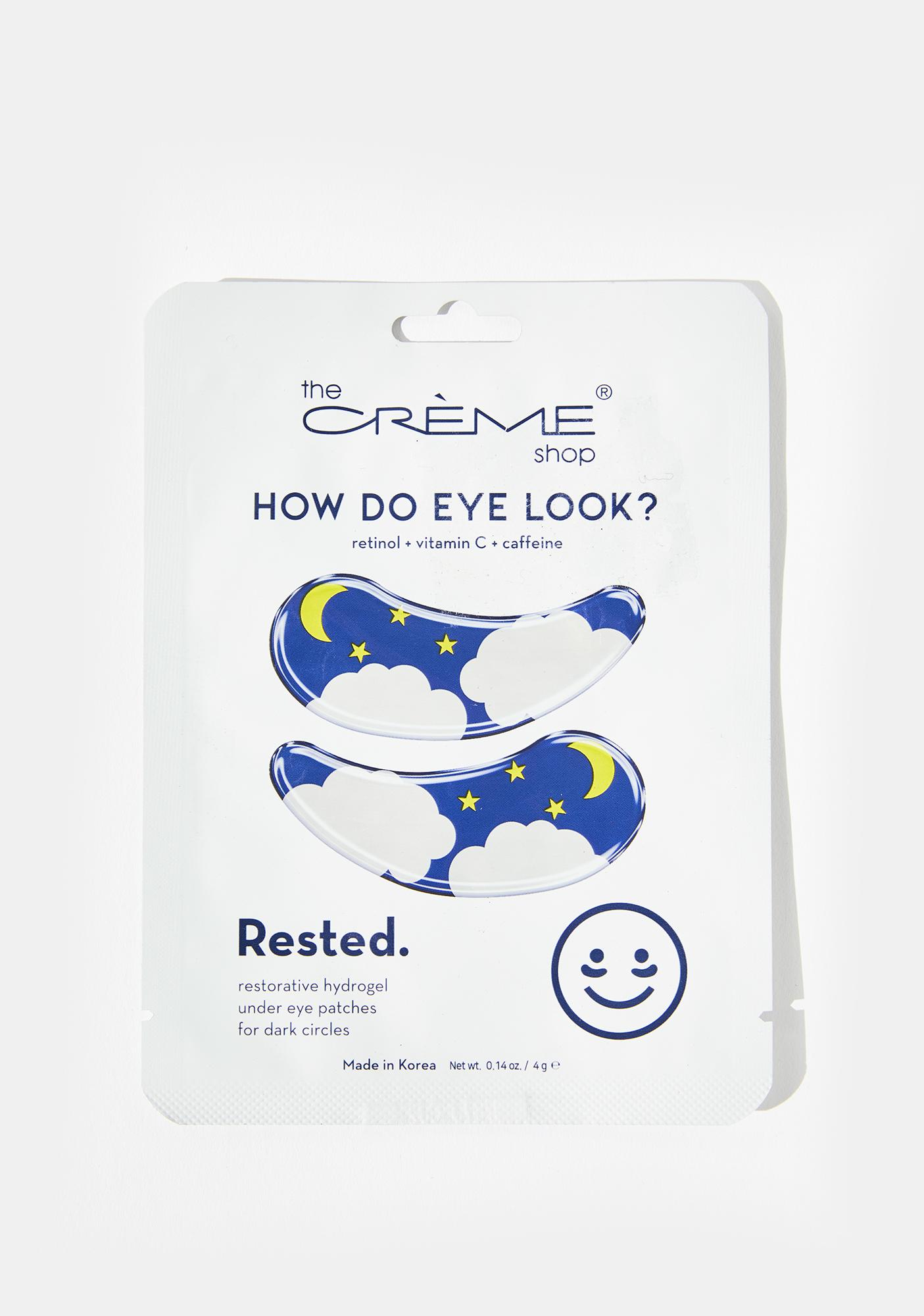 The Crème Shop How Do Eye Look? Rested Eye Mask