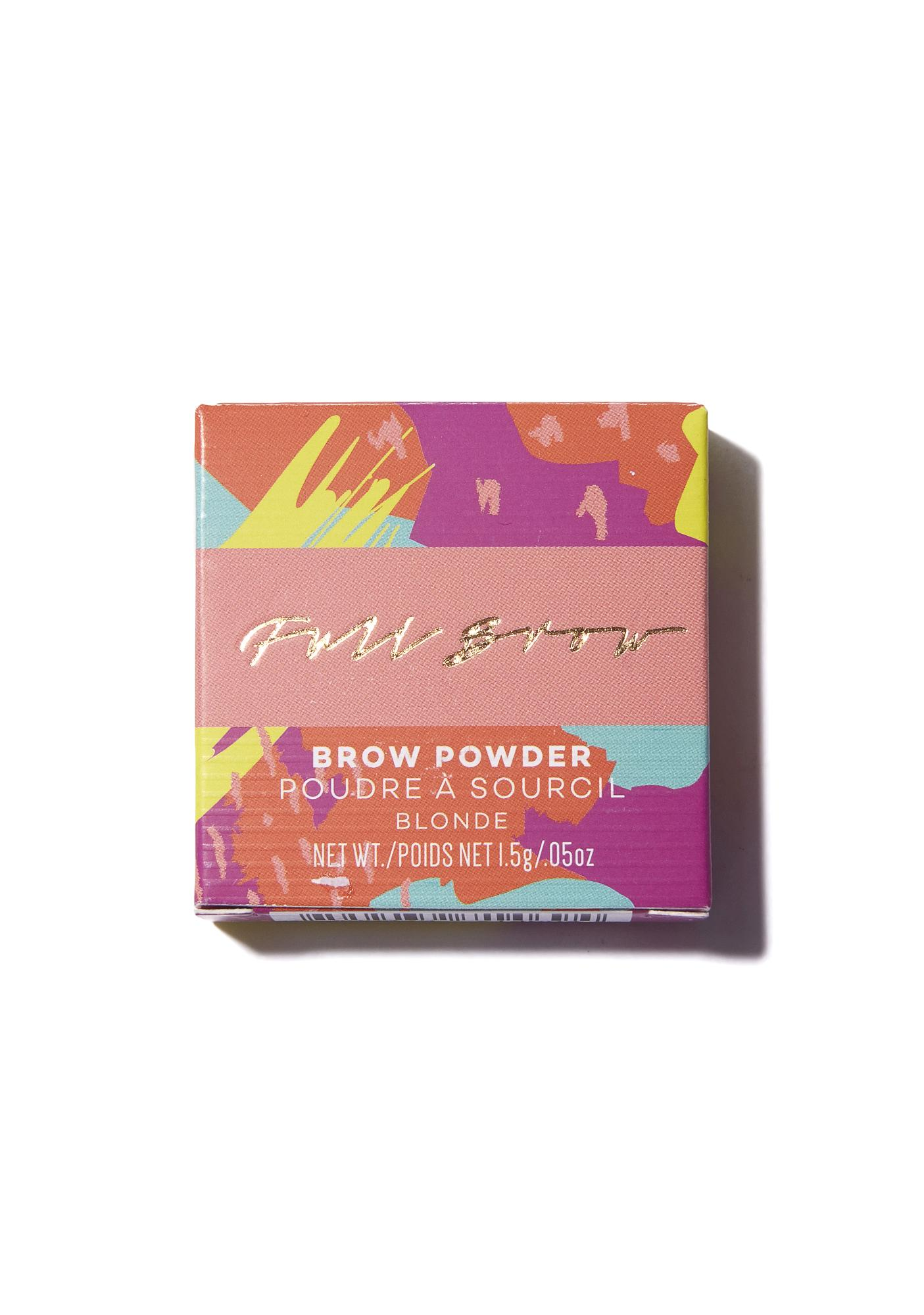 Full Brow Natural Brow Powder