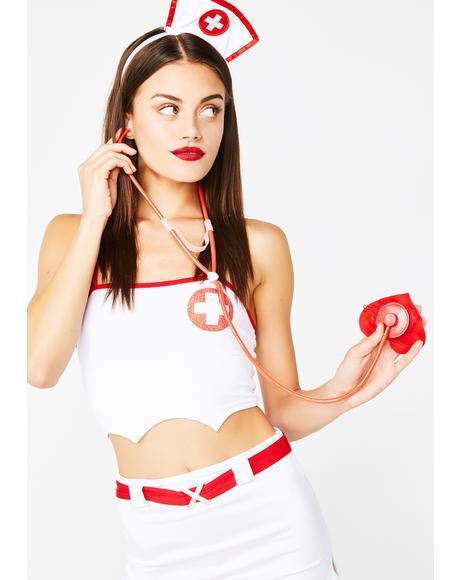 Doctor's Orders Nurse Costume Set
