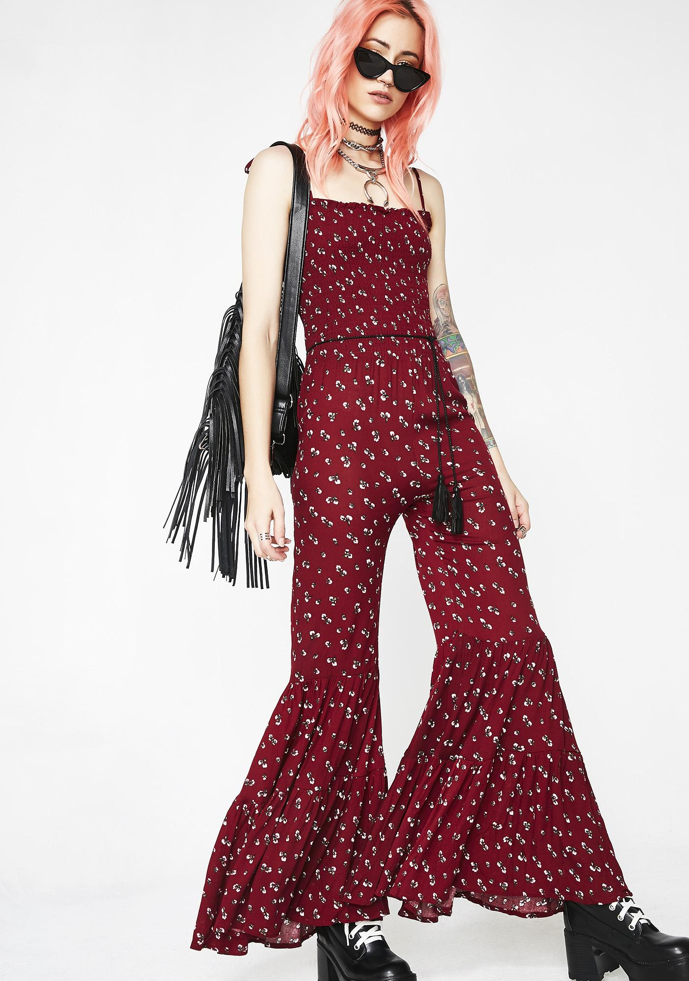 Total Bella Floral Jumpsuit