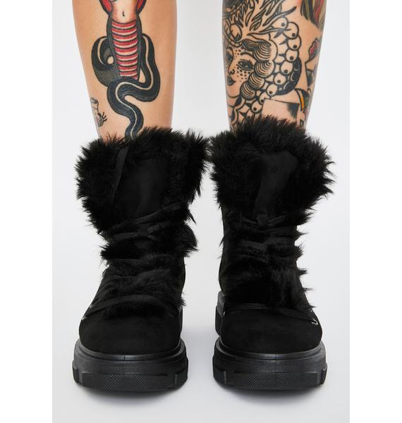 Tough Terrain Furry Boots