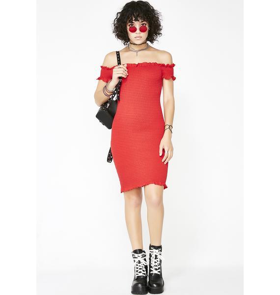 Glamorous Hot In Hurr Bodycon Dress