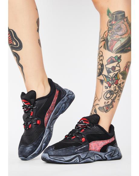 X Les Benjamins Storm Sneakers