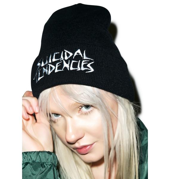 Suicidal Tendencies Logo Winter Beanie