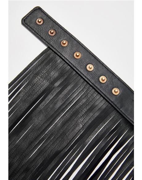 Shake It Fringe Belt