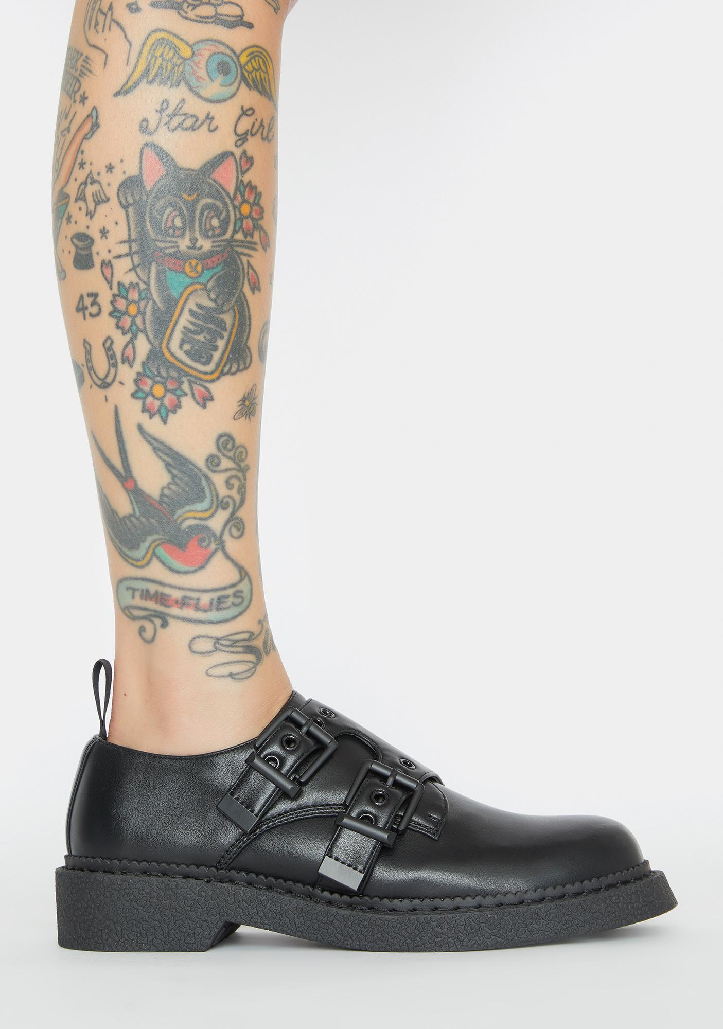 Lamoda Breakthrough Buckle Oxfords