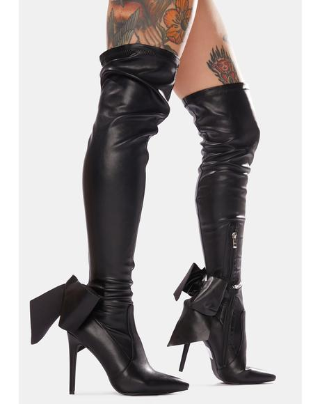 Make Them Drop Dead Stiletto Boots